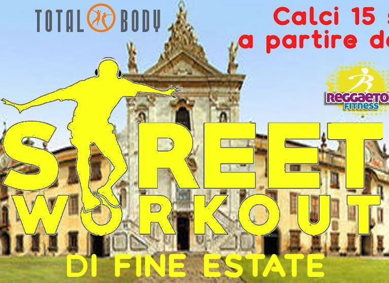 Street Workout di Fine Estate